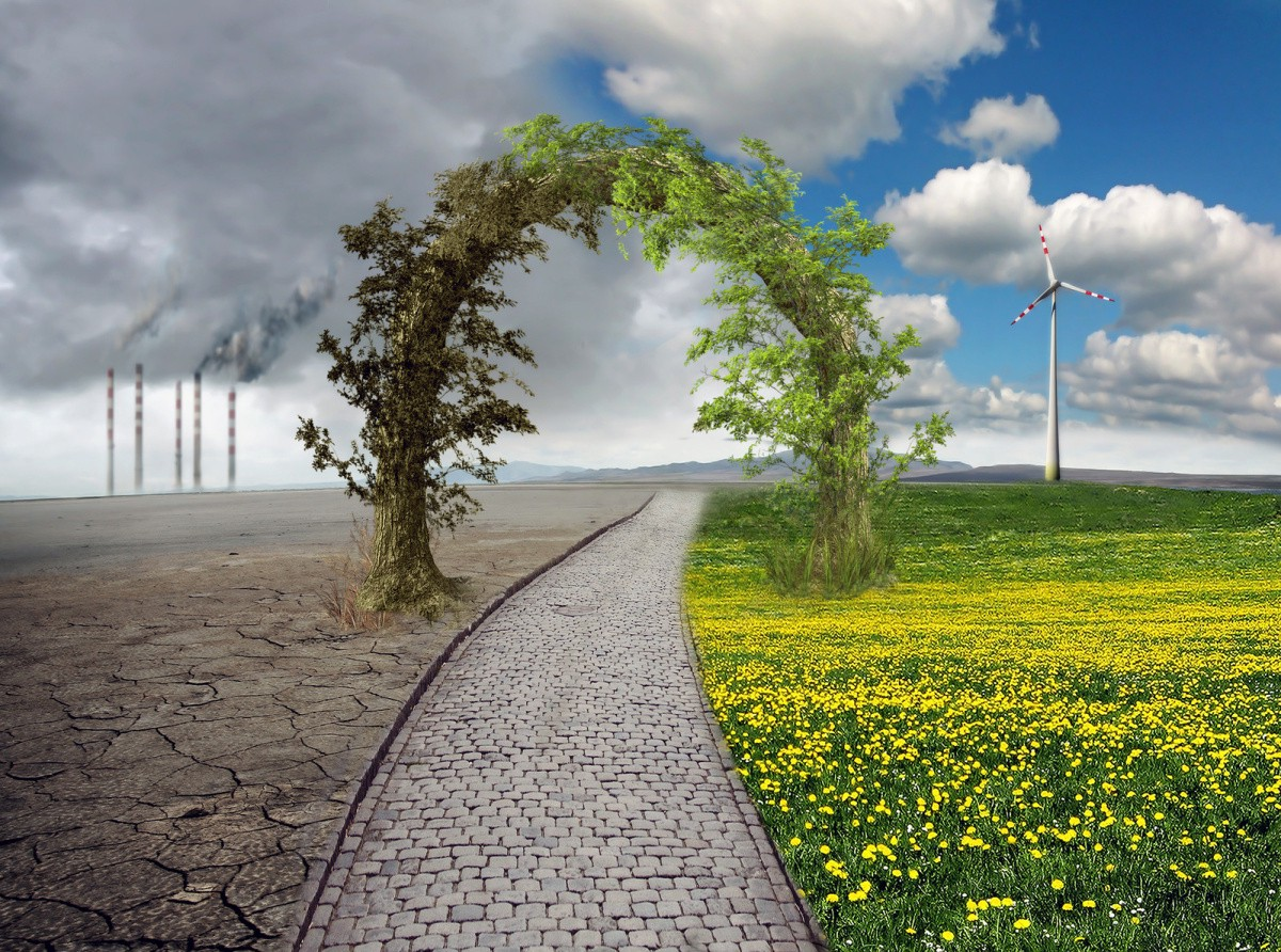 Hope for the Earth--a different way of living for the future of the planet